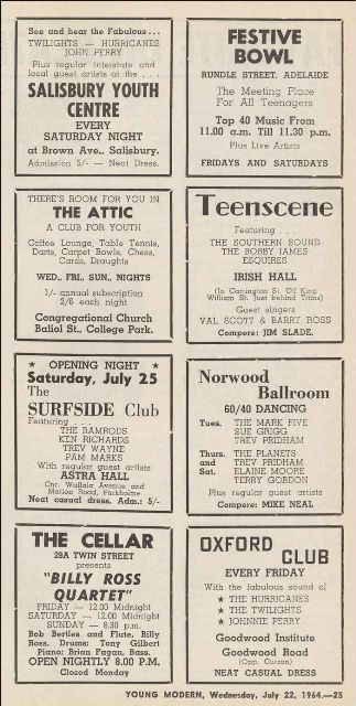 Dances 1964