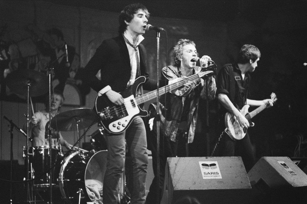 Sex Pistols live in 1976