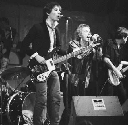 Sex Pistols at the Stowaway Club, Newport