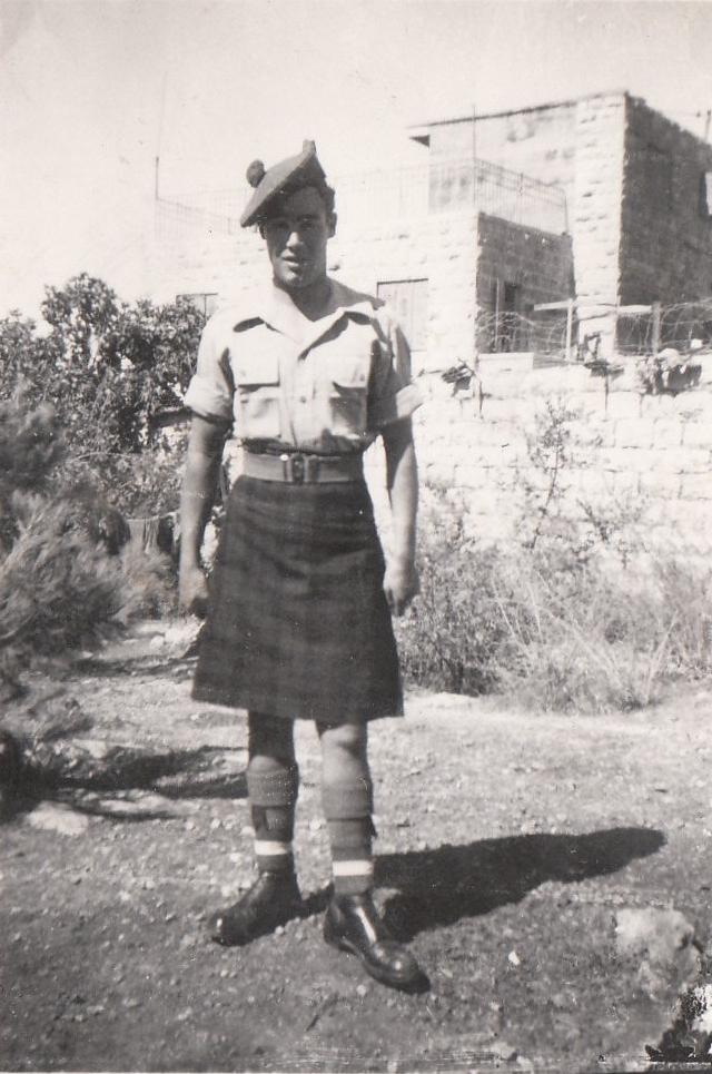1946 Army kilt