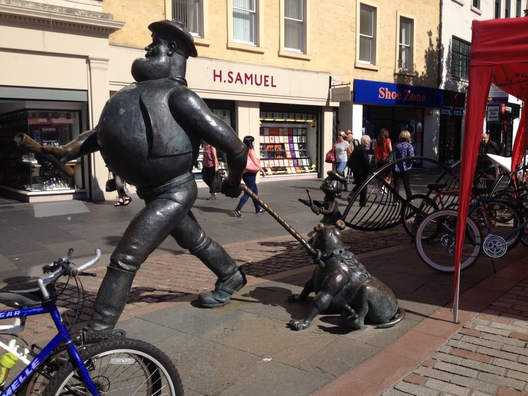 Desperate Dan in Dundee