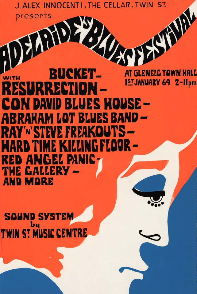 Adelaide Blues Festival 1969
