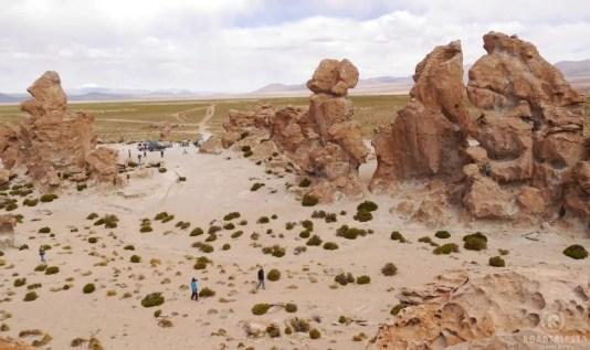 Bolivien Wüste