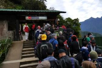 Machu Picchu Eingang