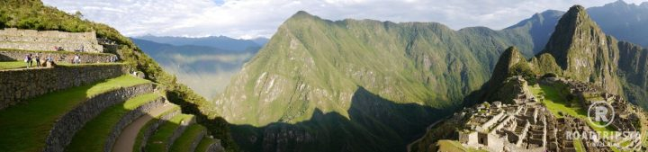 Machu Picchu Ausblick