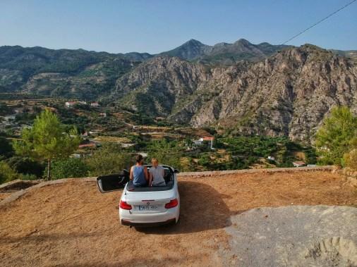 Cabrio Andalusien