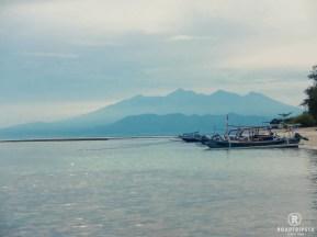 Ausblick auf Lombok