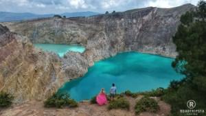 Kelimutu Vulkan Krater