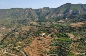 einsame Hütte in Andalusien