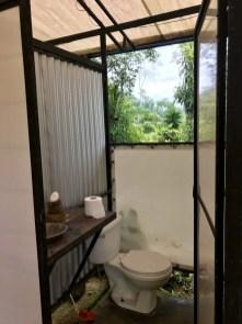 Bolita Rainforest Hostel, Corcovado Nationalpark Toiletten