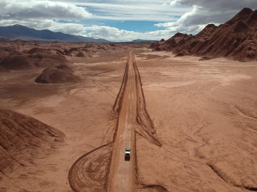 Desierto del Diablo, Argentinien