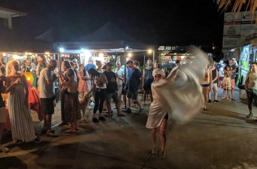 Nachtmarkt in Tamarindo