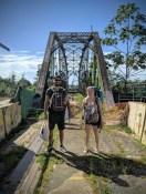 Grenzübergangsbrücke Costa Rica - Panama