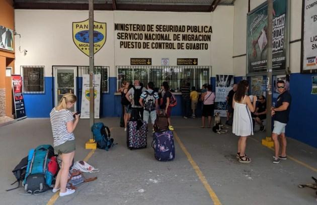 Einreise nach Panama, Migration, Sixoala/Guabita