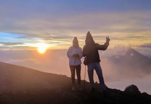Wanderung auf den Vulkan Acatenango zum Sonnenaufgang