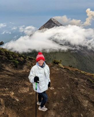Wanderung auf den Vulkan Acatenango