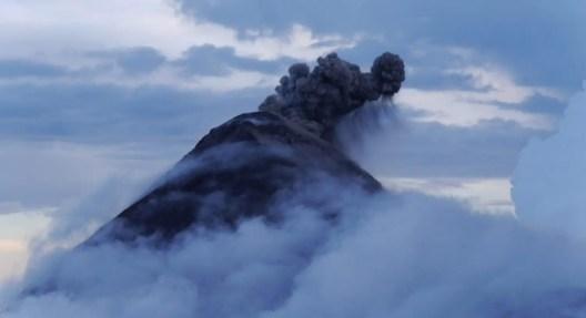Ausbruch Vulkan Acatenango