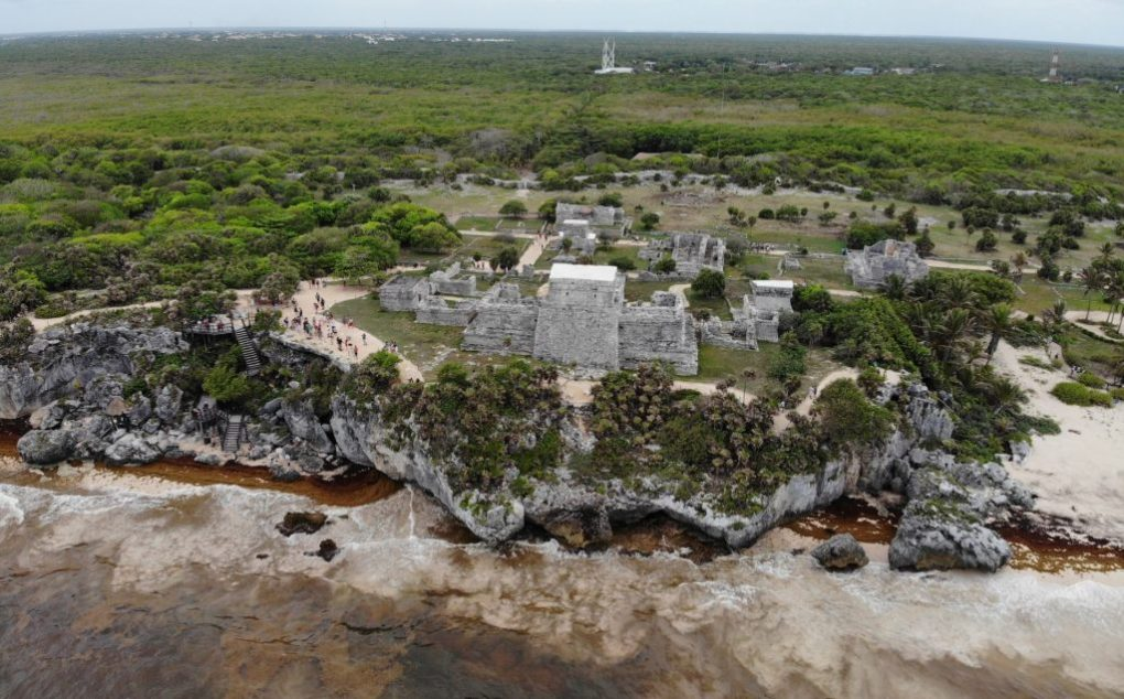 Tulum Maya Ruine, Mexiko
