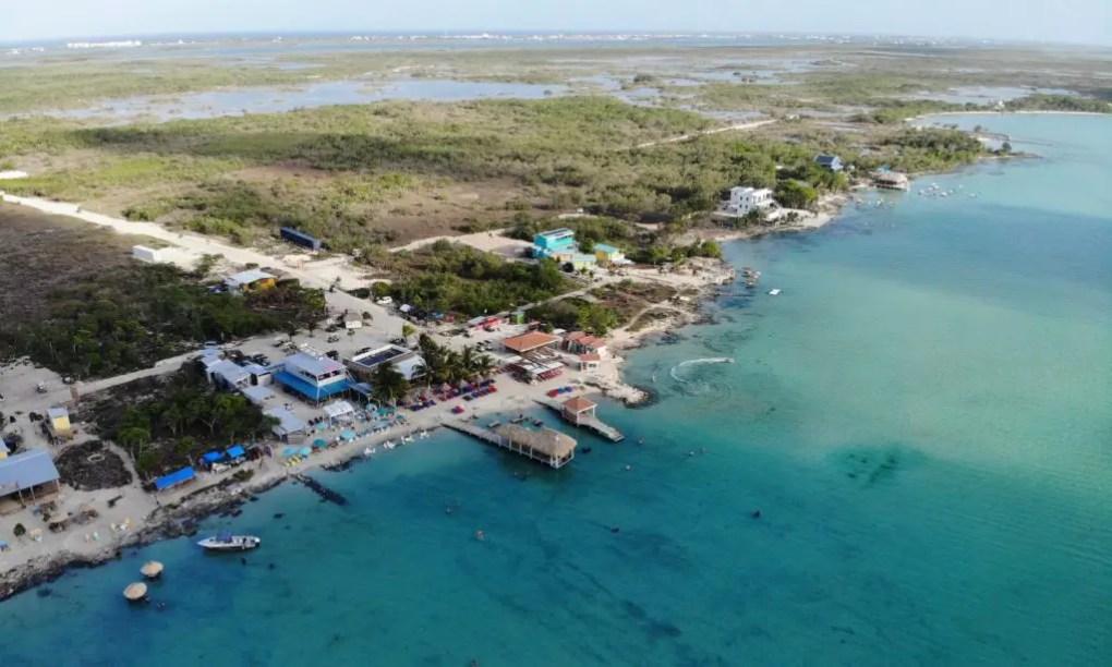 Secret Beach auf Caye Ambergris