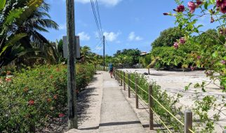 Placencia Beach Sidewalk