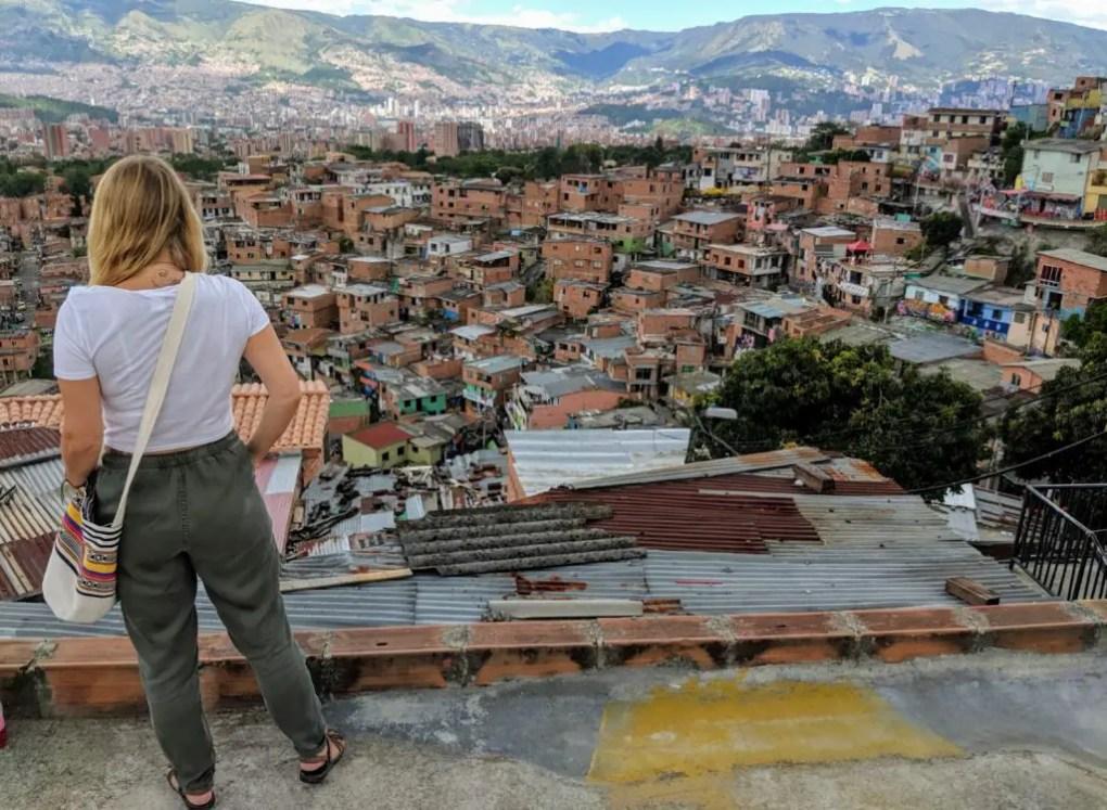 Comuna 13, Medellin ohne Tour