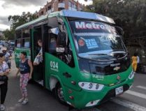Bus zur Comuna 13, Medellin