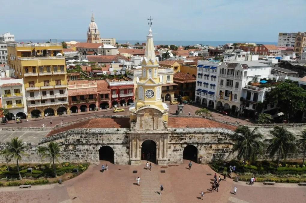 Stadttor Cartagena, Kolumbien