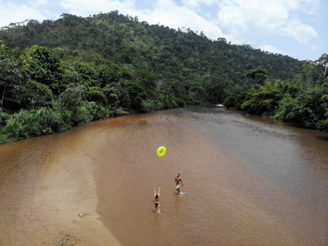 River Tubing in Palomino, Kolumbien