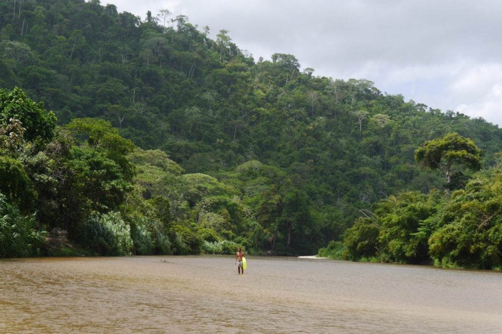 River Tubing auf eigene Faust am Rio Palomino