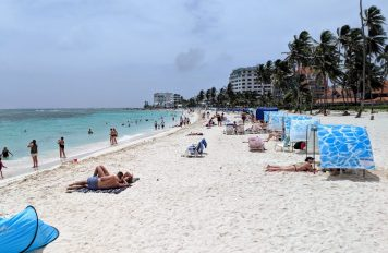 San Andres, Main Beach