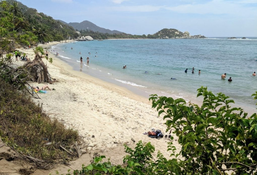 La Piscina, Tayrona Nationalpark