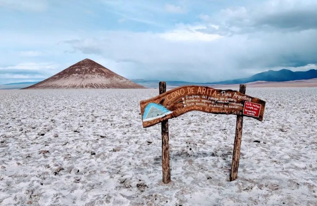 Cono Arita, Puna de Atacama, Argentinien
