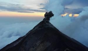 Acatenango Vulkan, Fuego, Guatemala