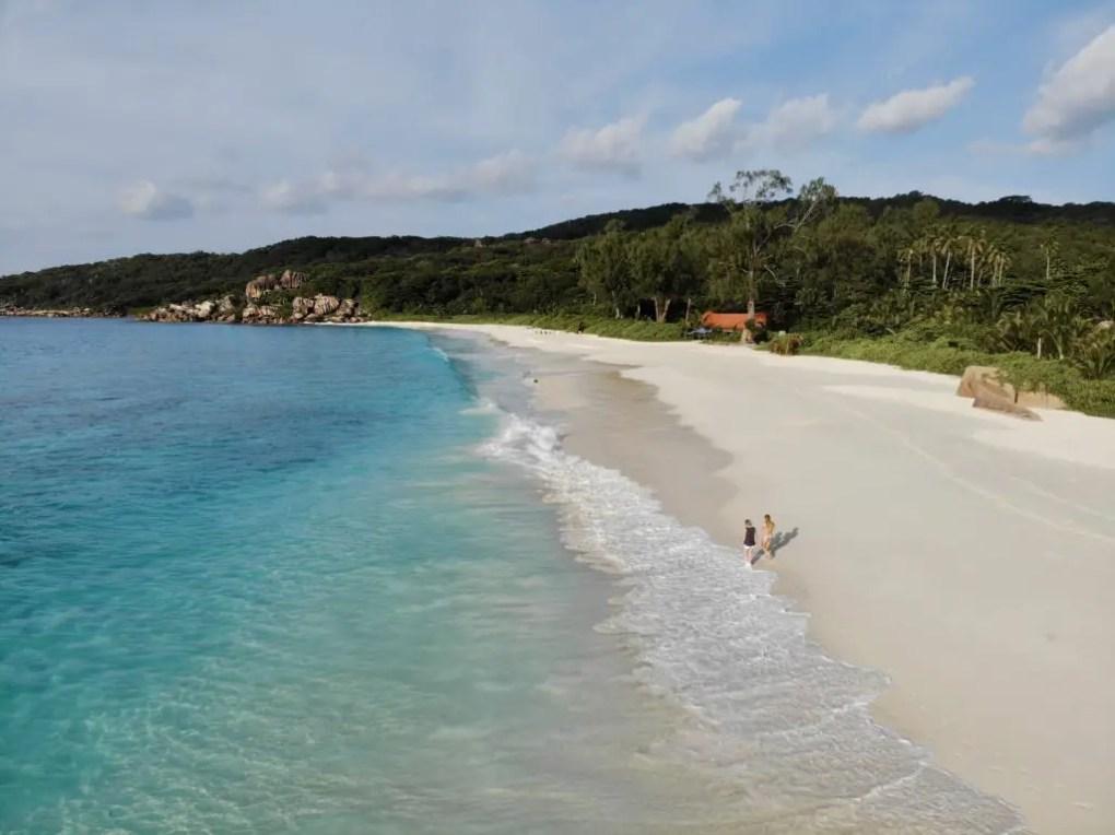 Anse Cocos Trail   Wanderung zum schönsten Strand auf La Digue