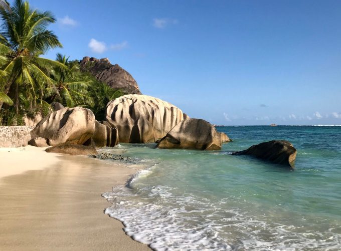 Anse Source d´Argent auf La Digue