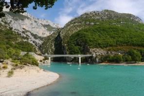 Roadtrip Provence - Stausee Lac de Sainte-Croix