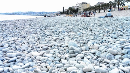 Nizza Strand - Roadtrip Provence