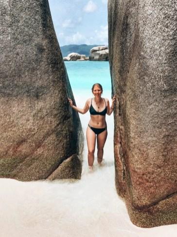 Felsen auf Coco Island