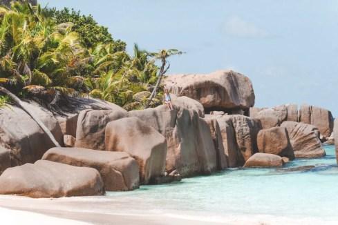 Granitfelsen auf Big Sister Island
