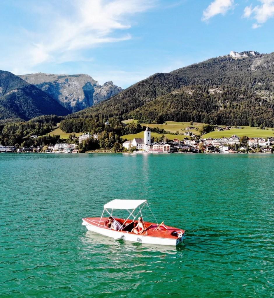 Boot fahren Wolfgangsee, St. Wolfgang