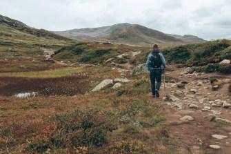 Wanderpfad am Bitihorn
