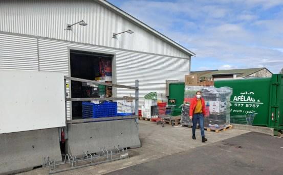 Einkaufen während Quarantäne in Island
