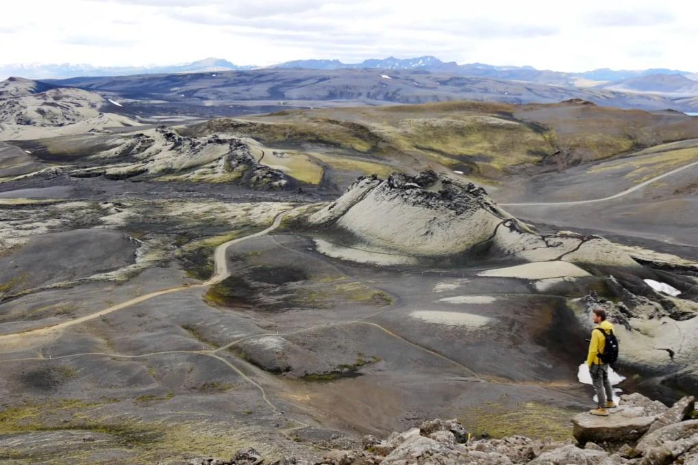 Laki Krater in Island - Mit dem Mietwagen ins Hochland