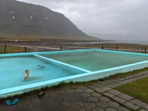 Island Westfjorde Hot Pot Pool Reykjafjarðarlaug
