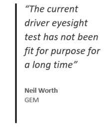 Drivers should take eye test every 10 years