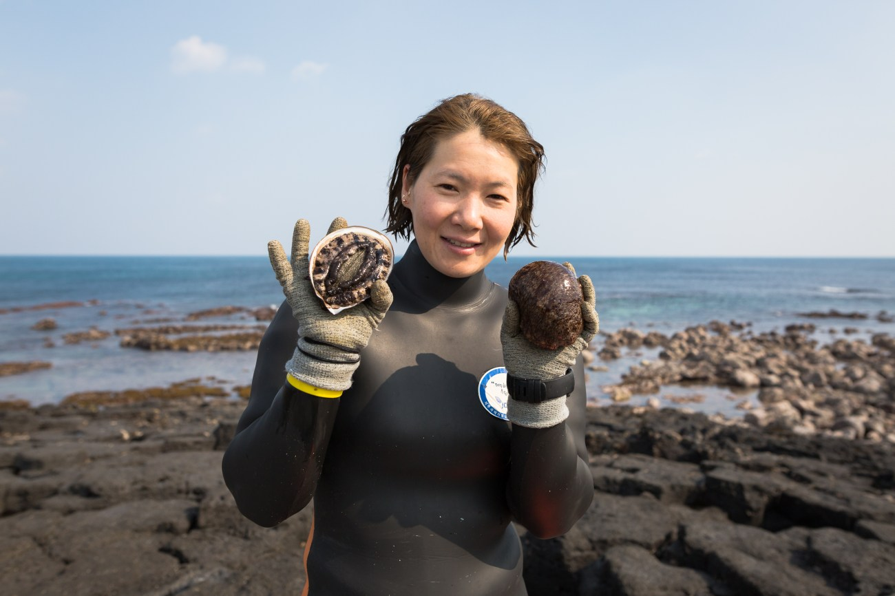 The Female Free Divers of Jeju