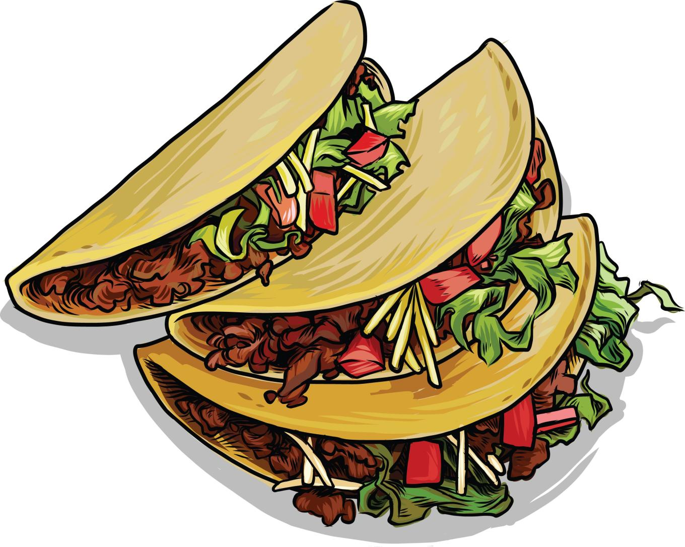 Mexican Food Tacos Clipart