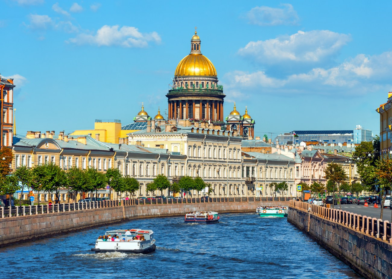 0dfc18c9561ca St Isaac s Cathedral and the Moika river. Photo by  Roman Evgenev