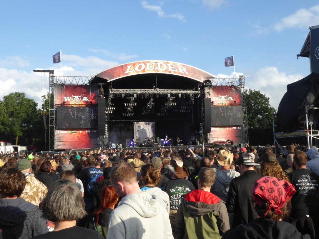 WOA Louder stage (was Party Stage) Wacken Open Air