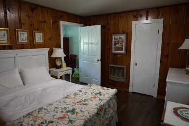 View of the Honey Jack room in Magnolia Cottage, Lynchburg TN